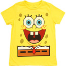 I Am SpongeBob Happy Face Glow In The Dark Boy's T-Shirt Tee
