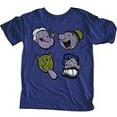 Popeye Happy Faces T-shirt