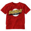 The Big Bang Theory Bazinga! Toddler T-shirt