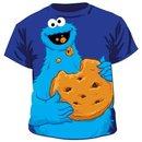 Jumbo Cookie Monster Eating T-shirt