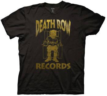 Death Row Records Foil Logo T-shirt