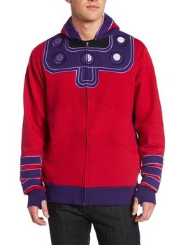 Magneto Zip Up Hoodie Sweatshirt