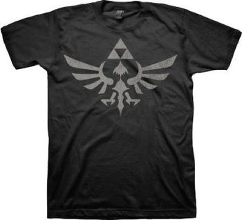 Legend of Zelda Twilight Princess Triforce T-shirt