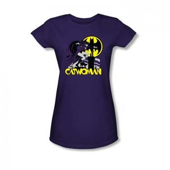 Catwoman Rooftop Cat T-Shirt