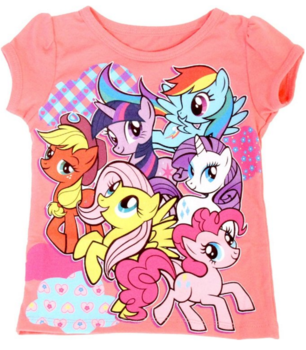 My Little Pony Best Friends Patterns T-Shirt