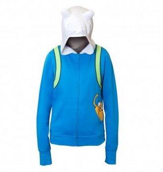 Finn The Human Costume Hoodie Sweatshirt