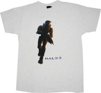 Halo 3 Master Chief White T-shirt