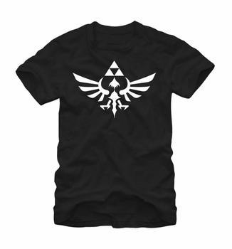 Nintendo Legend of Zelda Triumphant Triforce Black T-Shirt