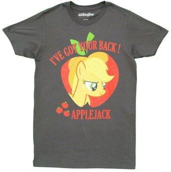 I've Got Your Back Applejack Adult Charcoal T-Shirt