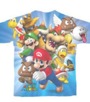 Nintendo Super Mario Characters T-shirt