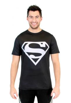 Superman Silver Logo Performance Athletic T-Shirt