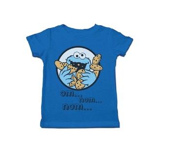 Cookie Monster Om Nom Nom Toddlers T-Shirt