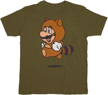 Nintendo Super Mario Tanooki Suit T-shirt