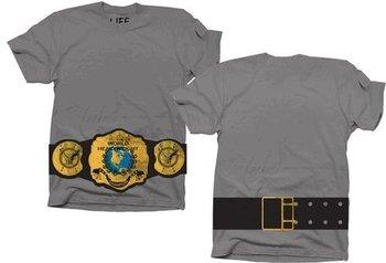 World Heavyweight Champion Belt on Waist T-shirt