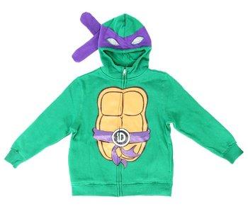 TMNT Boys Costume Zip Hoodie Sweatshirt