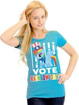 My Little Pony Vote Rainbow Dash President Hat T-Shirt