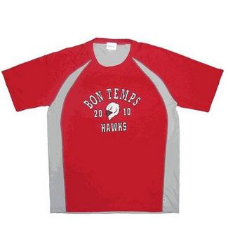 True Blood Bon Temps Hawks Jersey T-shirt