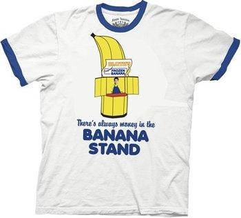 Money Banana Stand White T-shirt