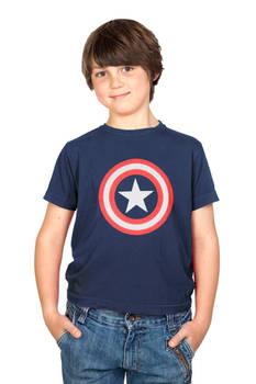 Captain America Star Logo Youth T-shirt