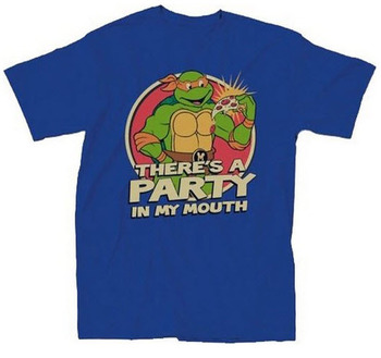 Teenage Mutant Ninja Turtles There's A Party T-Shirt
