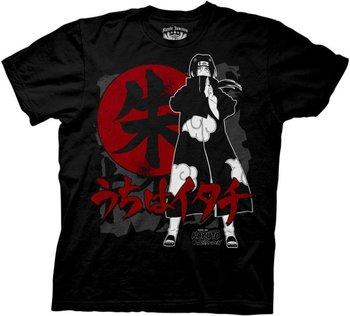 Naruto Anime Shippuden Sasuke Itachi Symbols T-shirt