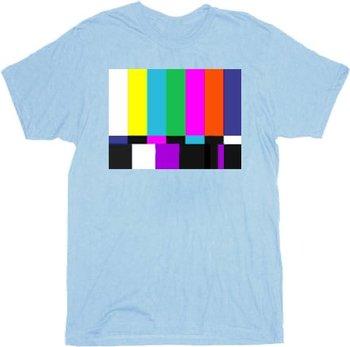 The Big Bang Theory Sheldon Test Pattern T-shirt