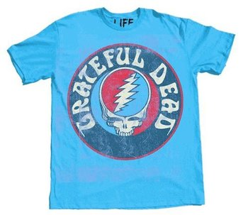 Grateful Dead Steal Your Face Skull Logo T-Shirt