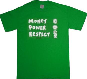 Nintendo Money Power Respect T-Shirt