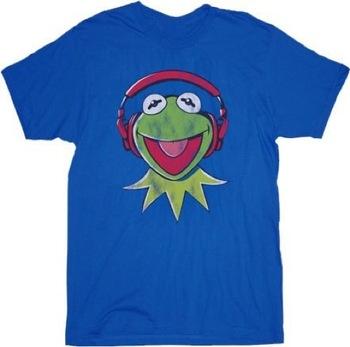 The Muppets Kermit DJ Headphones T-shirt