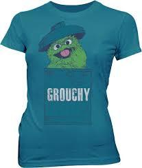 Oscar the Grouch Grouchy Mosaic T-shirt