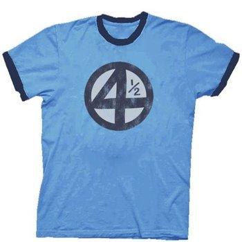 Fantastic Four 4.5 4 1/2 Scott Pilgrim Distressed T-shirt