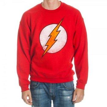 The Flash Logo Red Crew Sweatshirt