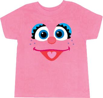 Abby Cadabby Fairy Face T-shirt