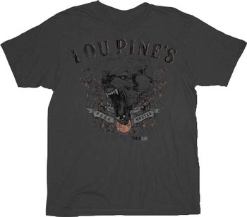True Blood Lou Pine's Pack Master Wolf T-shirt