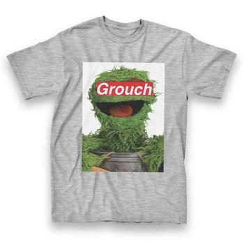 Oscar the Grouch Label Covered Eyes T-Shirt