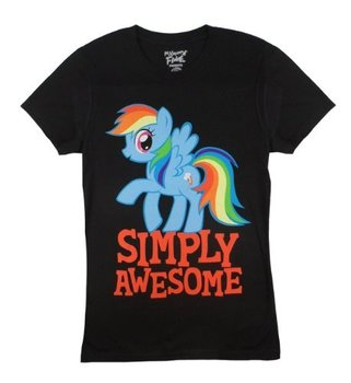 My Little Pony Rainbow Dash Simply Awesome T-Shirt