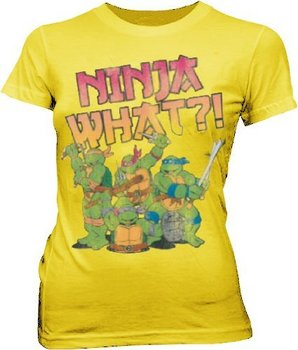 TMNT Teenage Mutant Ninja Turtles Ninja What?! T-shirt