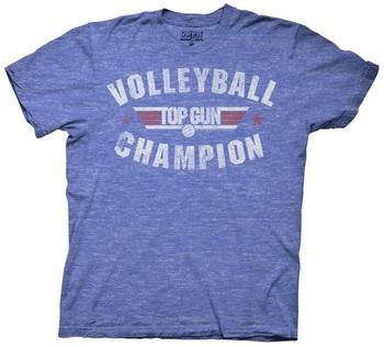 Top Gun Volleyball Champion T-Shirt