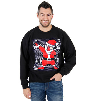 Dabbing Santa Ugly Christmas Sweatshirt