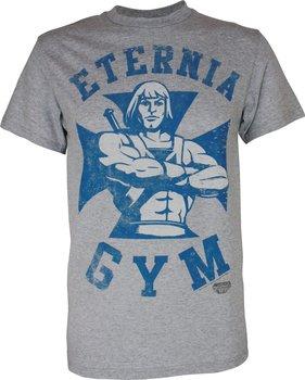 He-Man Eternia Gym Adult Gray T-Shirt