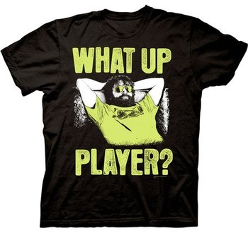 Hangover Part III Alan What Up Player T-shirt