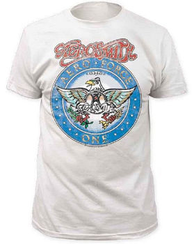 Wayne's World Aerosmith Aero Force Short Sleeve T-shirt Tee