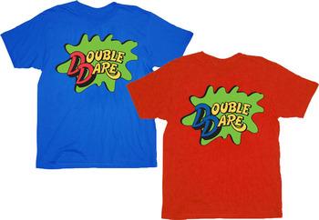 Double Dare Logo Costume T-shirt Tee