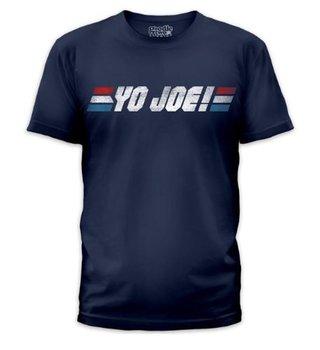 G.I. Joe Yo Joe! Logo T-shirt