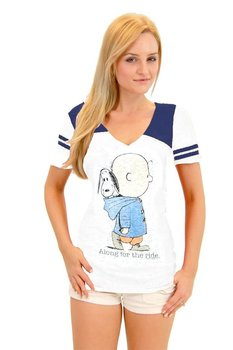 Charlie Brown and Snoopy Along for the Ride T-shirt
