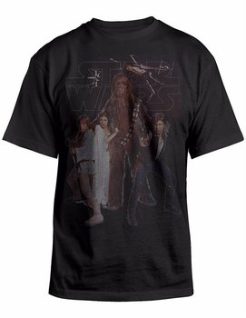 Star Wars Chewie and The Gang T-shirt
