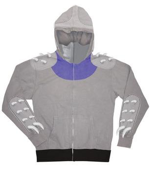 TMNT Shredder Zip-Up Costume -Shredder Hoodie