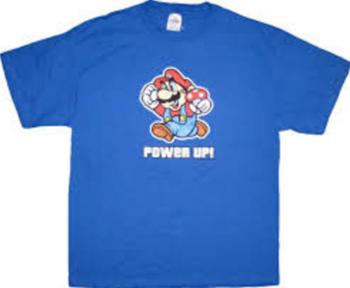 Nintendo Super Mario Power Up T-shirt