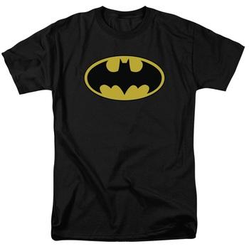 Batman Yellow Logo T-shirt