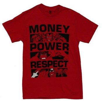 Marvel Comics Money Power Respect T-Shirt